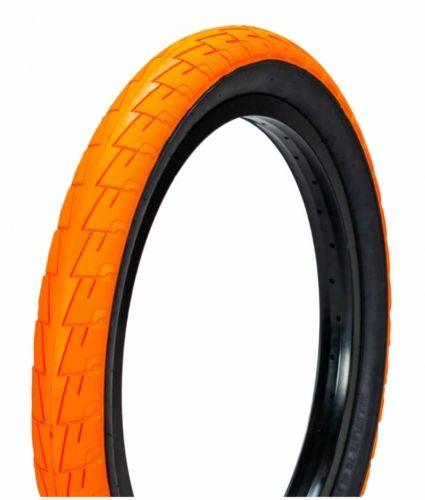 "Opona BMX 20"" Lagos Crawler Orange Blackwall"