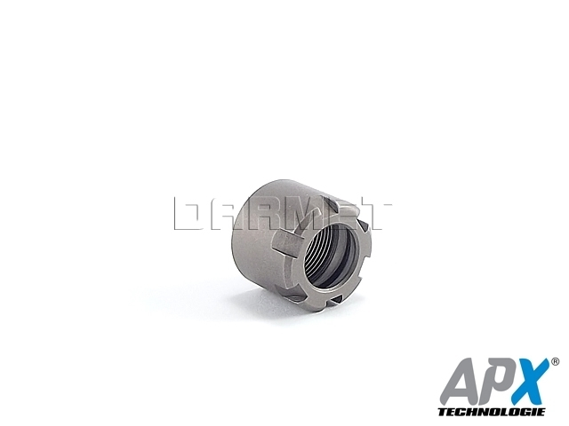Nakrętka mocująca do tulejek ER16 Typ Mini - APX (9833-S)