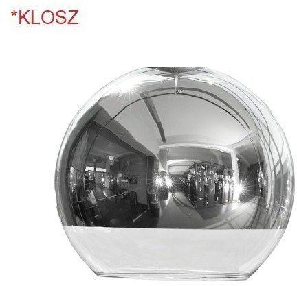 Klosz do lampy GLOBE chrom S kula śr 20cm