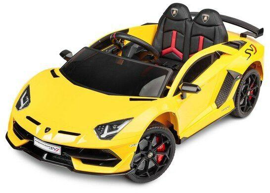 Pojazd na akumulator Lamborghini Aventador YELLOW