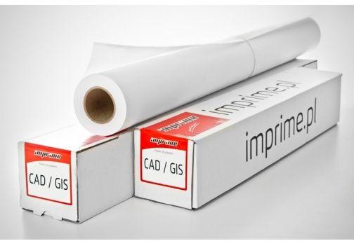 Papier w roli IMPRIME 450mm x 30m 120g/m2 - powlekany, do plotera (450x30PAP 120g POWL)