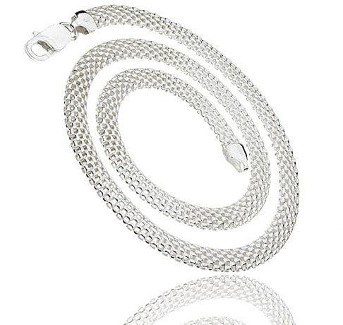 Łańcuszek srebrny Tuba