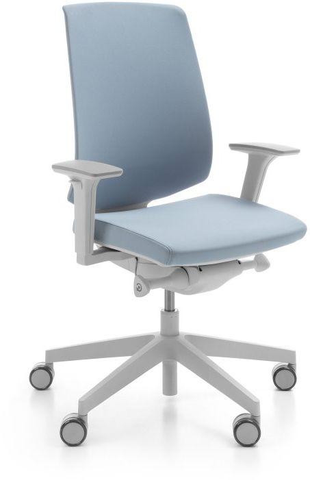 Krzesło biurowe LightUp 230SL (szary) Profim