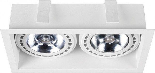 Oprawa podtynkowa z ramką Mod ES111 biały 9412 - Nowodvorski Do -17% rabatu w koszyku i darmowa dostawa od 299zł !
