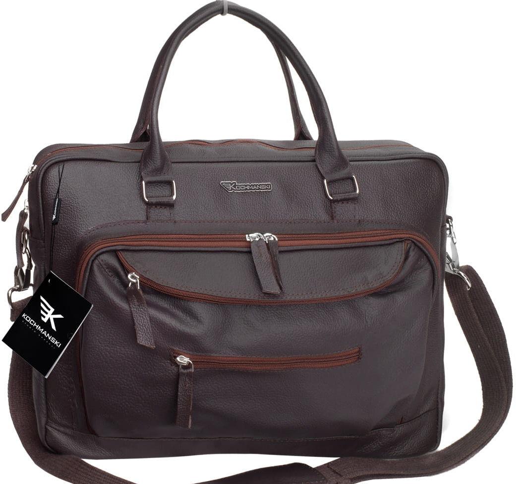 KOCHMANSKI torba męska na laptopa 15,6 skórzana 2104