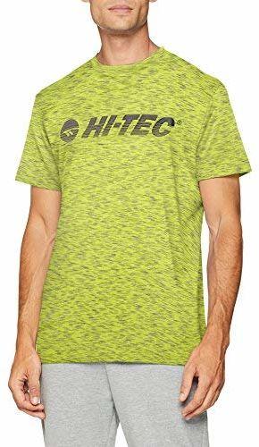 Hi-Tec męska koszulka Garcia, złoty kiwi, mała