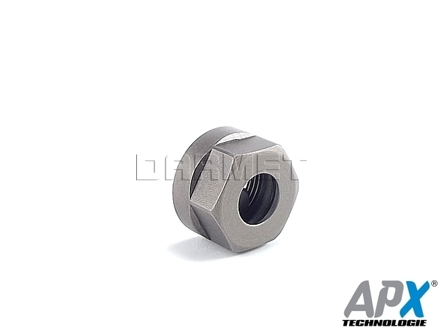 Nakrętka mocująca 6-kątna do tulejek ER11 - APX (9833-D)