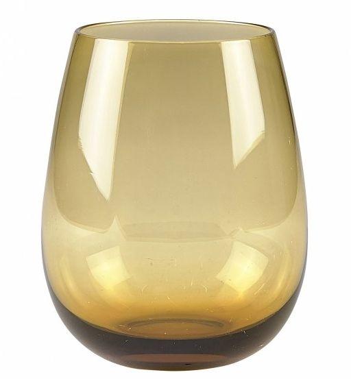 Villa Collection COLOUR Szklanki do Wody 520 ml 4 Szt. Amber