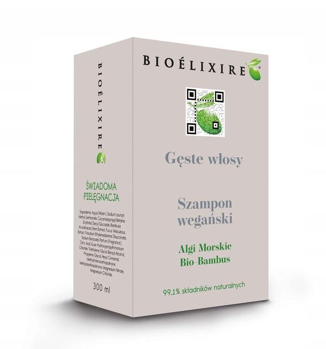 Bioelixire Gęste włosy Szampon na wypadanie 300ml