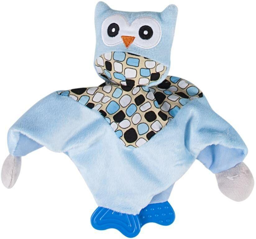 Zabawka pluszowa z gryzakiem przytulanka