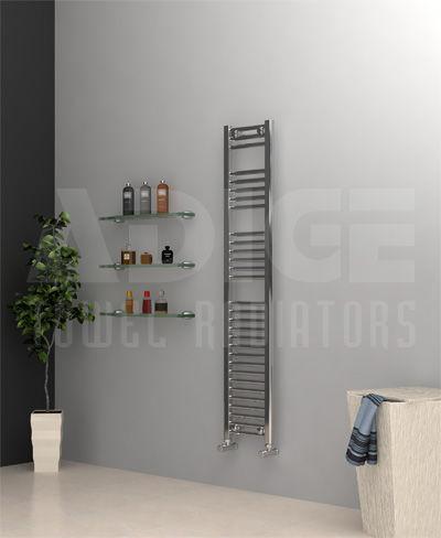 Grzejnik łazienkowy drabinkowy chrom - 300/1500 mm