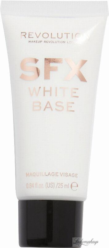 MAKEUP REVOLUTION - CREATOR REVOLUTION - SFX WHITE BASE - FACE PAINT - Płynna farba do twarzy - 25 ml