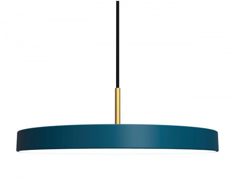 Lampa wisząca Asteria 2154 UMAGE niebieska lampa w stylu design
