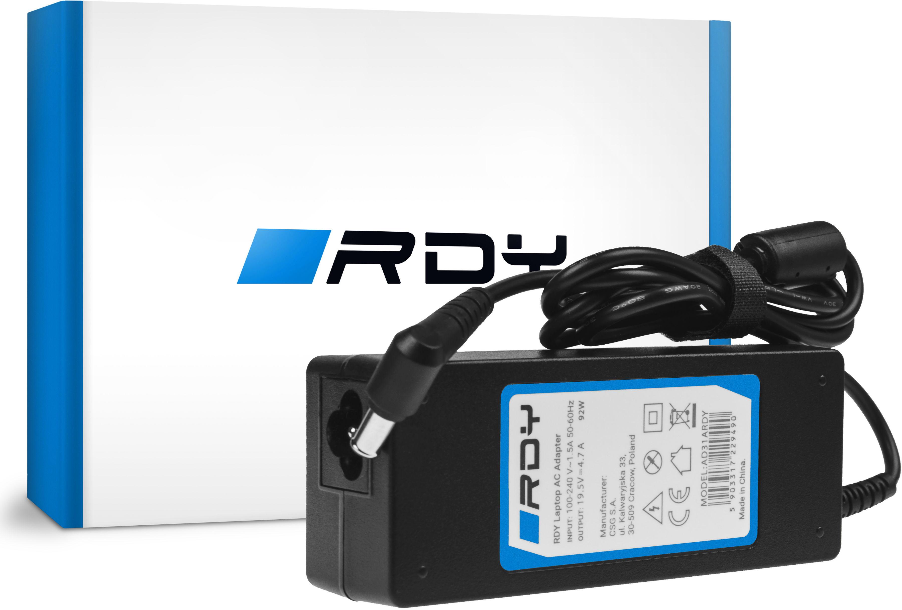 Zasilacz Ładowarka RDY 19.5V 4.7A 90W do Sony Vaio PCG-61211M PCG-71211M PCG-71811M PCG-71911M Fit 15 15E SVF152A29M