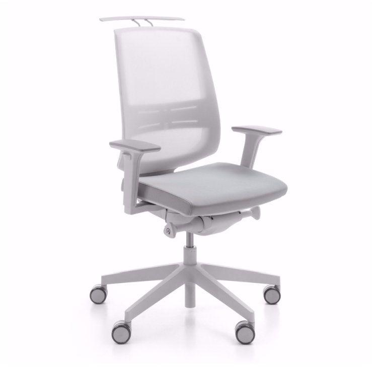 Krzesło biurowe LightUp 250SL (szary) Profim