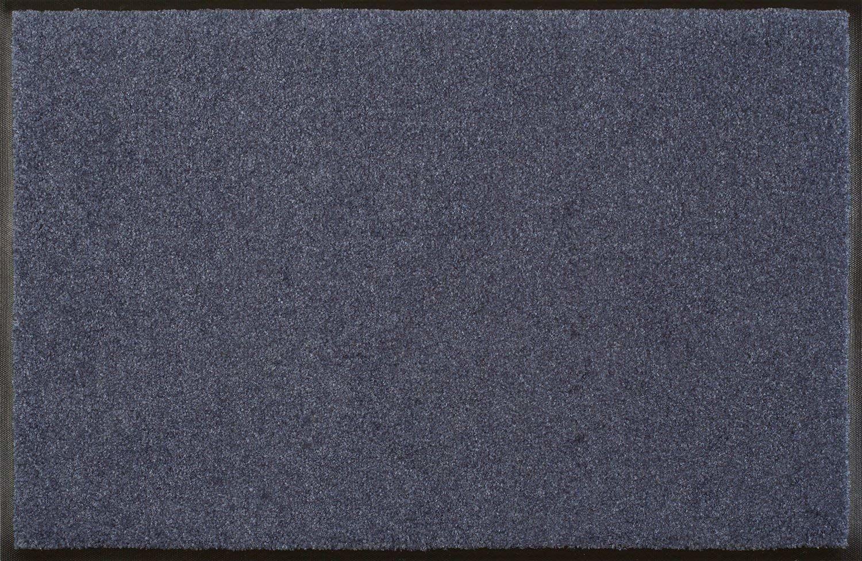 Wycieraczka stalowa niebieska 120 x 180 cm niebieska