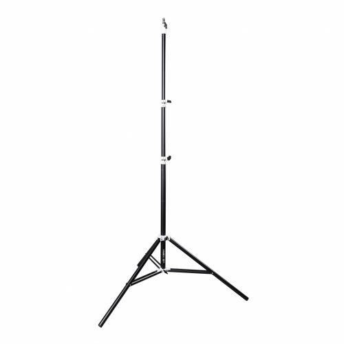 GlareOne Stork 395 - statyw studyjny oświetleniowy, 123-395cm, amortyzator powietrzny
