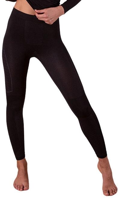 Sportowe legginsy termoregulacyjne DONNA z Dryarn . Szybkoschnące, zapewniające idealną temperaturę. Certyfikat OEKO-TEX