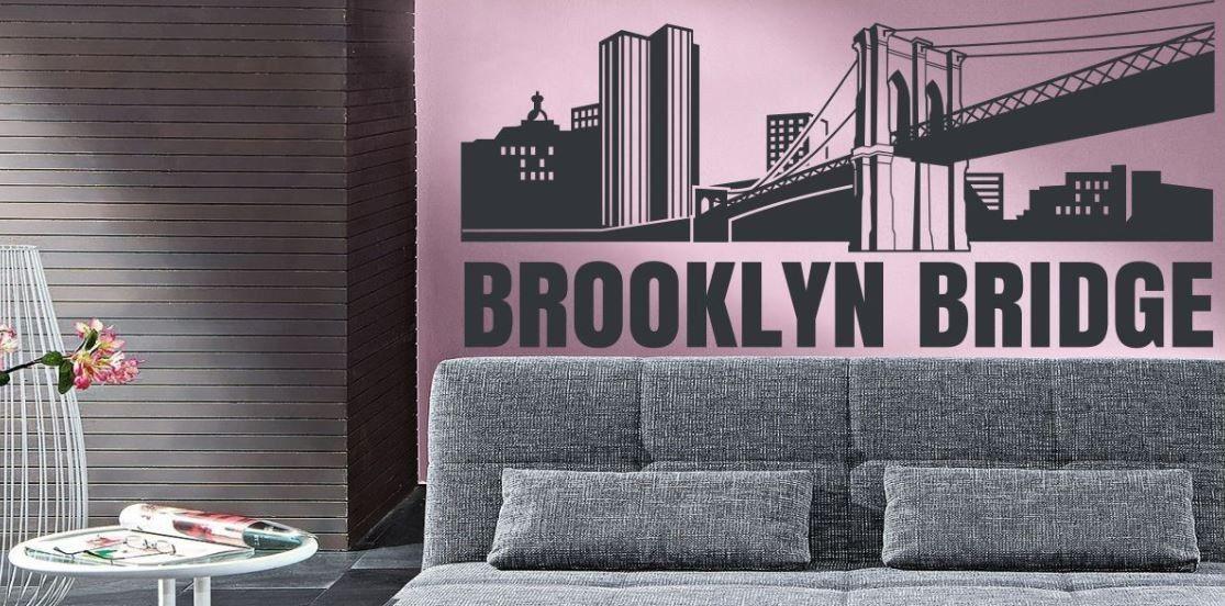 Naklejka Różne Rzeczy Most Brooklyn