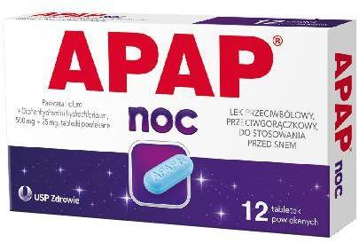 Apap Noc 12 tabletek