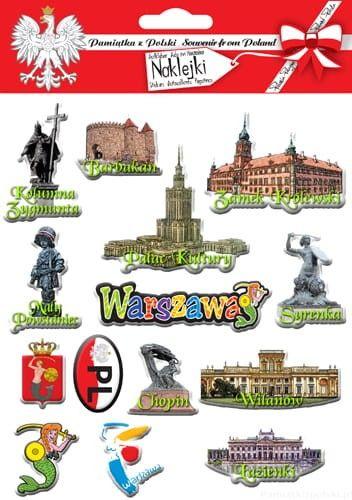 Naklejki wypukłe - Warszawa