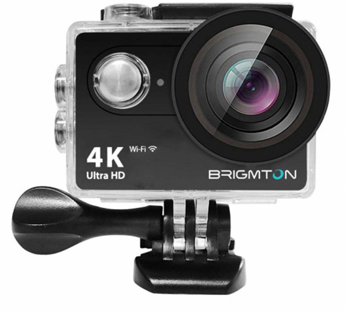 Brigmton 8.42508E+12 adapter Displayport A Vga kamera sportowa 4K 170o