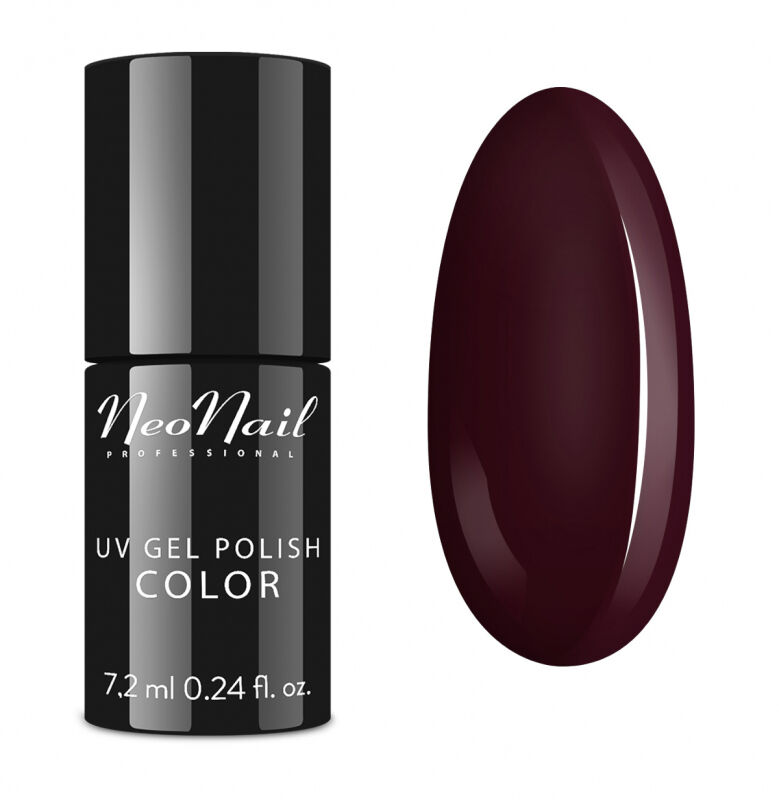 NeoNail - UV GEL POLISH COLOR - LADY IN RED - Lakier hybrydowy - 2692-7 DARK CHERRY