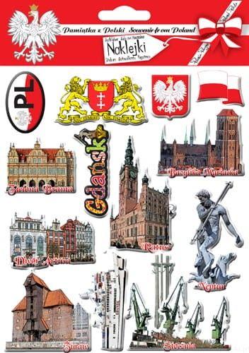 Naklejki wypukłe - Gdańsk