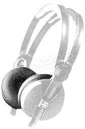 Nausznice / nauszniki / pady / gąbki do Sennheiser HD-25, welurowe (para)