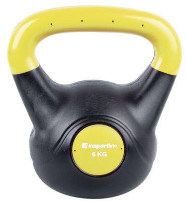 Kettlebell bitumiczny Dark Insportline 6 kg
