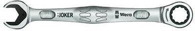 klucz płasko-oczkowy z grzechotką 8mm, Joker 6000, WERA [05073268001]