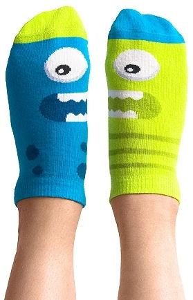 Stopki kolorowe Nanushki z serii Happy Friends - Kids Dual Shock
