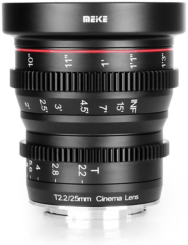 Obiektyw Meike MK-25mm T2.2 Cine do Sony E