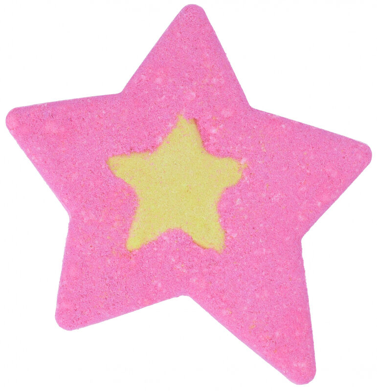 Bomb Cosmetics - Watercolors Bath Blaster - Wielokolorowa, musująca gwiazda do kąpieli - A Star Is Born