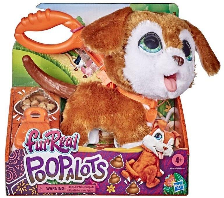 Hasbro FurReal Friends - Duże zwierzaki na smyczy Peealots Piesek E8945