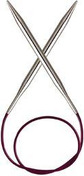 KnitPro KP10316 60 cm x 2,75 mm Nova stałe igły okrągłe, srebrne