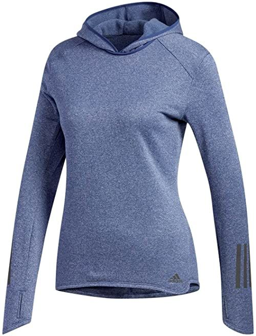 adidas Damska bluza z kapturem RS HOODIE W, noble indigo s18, XS