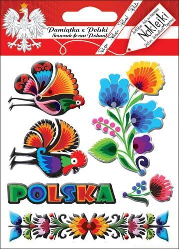 Naklejki wypukłe - Polska 02