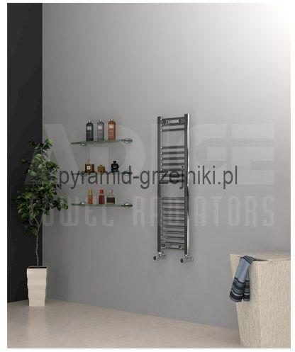 Grzejnik łazienkowy drabinkowy chrom - 300/1000 mm