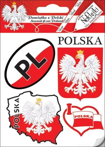Naklejki zestaw - Polska 03