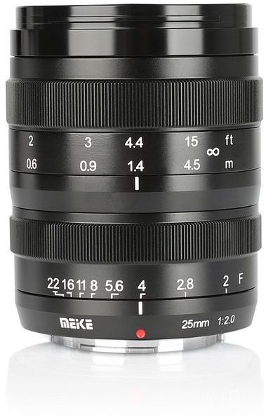 Obiektyw Meike MK-25mm F/2.0 do Sony E
