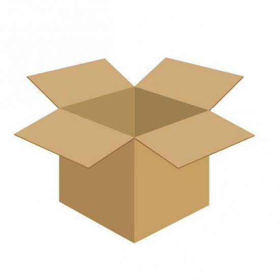 Karton klapowy tekt 3 - 320 x 225 x 250 430g/m2 fala B