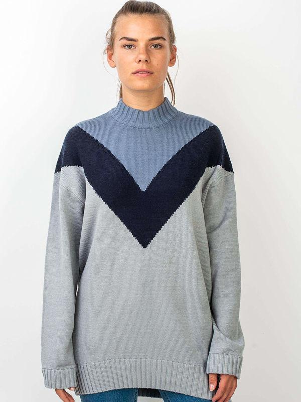 Element RISING SUN QUARRY damski sweter projektant - S