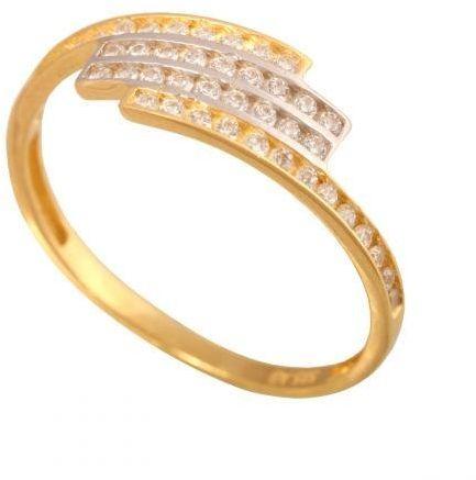 Złoty pierścionek tradycyjny Pn207