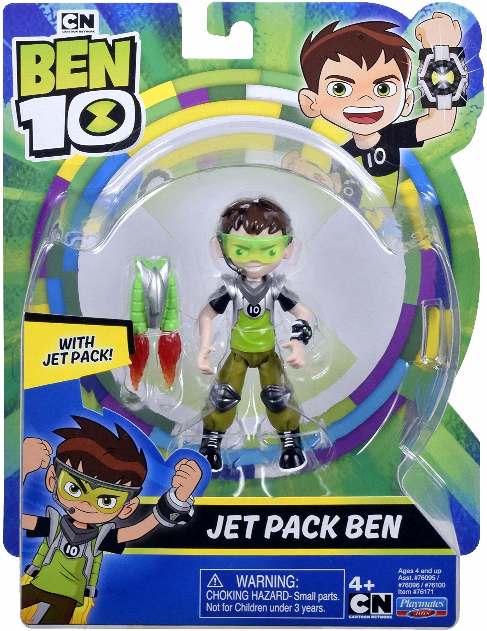 Ben 10 BEN47C10 Figurki akcji - Jetpack Ben