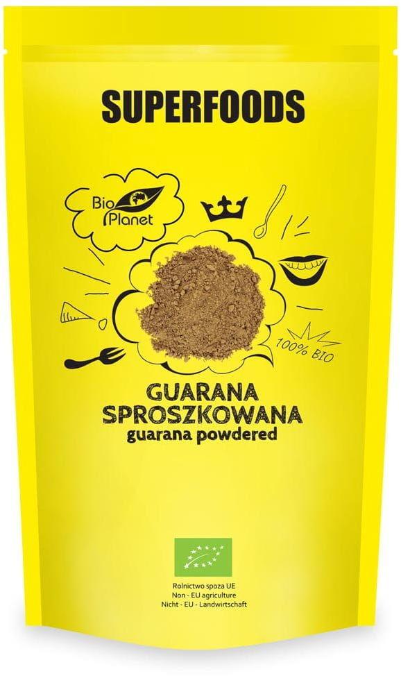 Guarana sproszkowana bio 150 g - bio planet