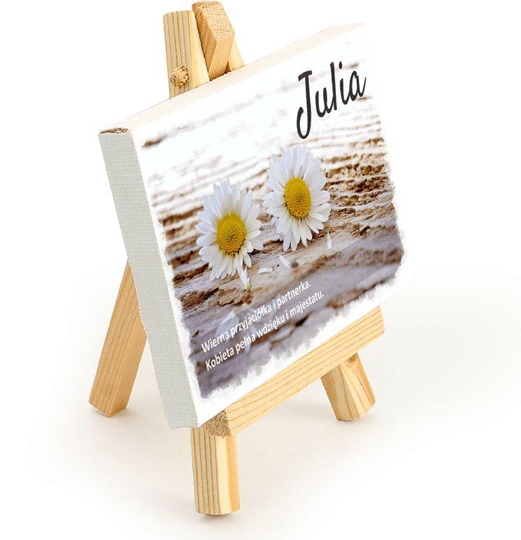 Obraz na sztaludze - Julia