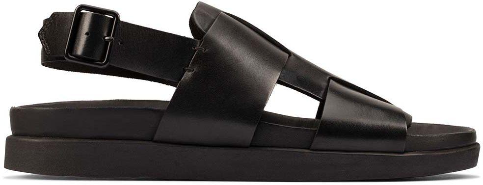 Sandały męskie Clarks Sunder Strap czarne261595567