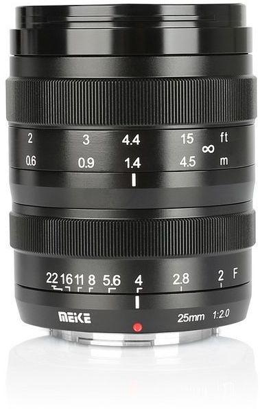 Obiektyw Meike MK-25mm F/2.0 do Fuji X