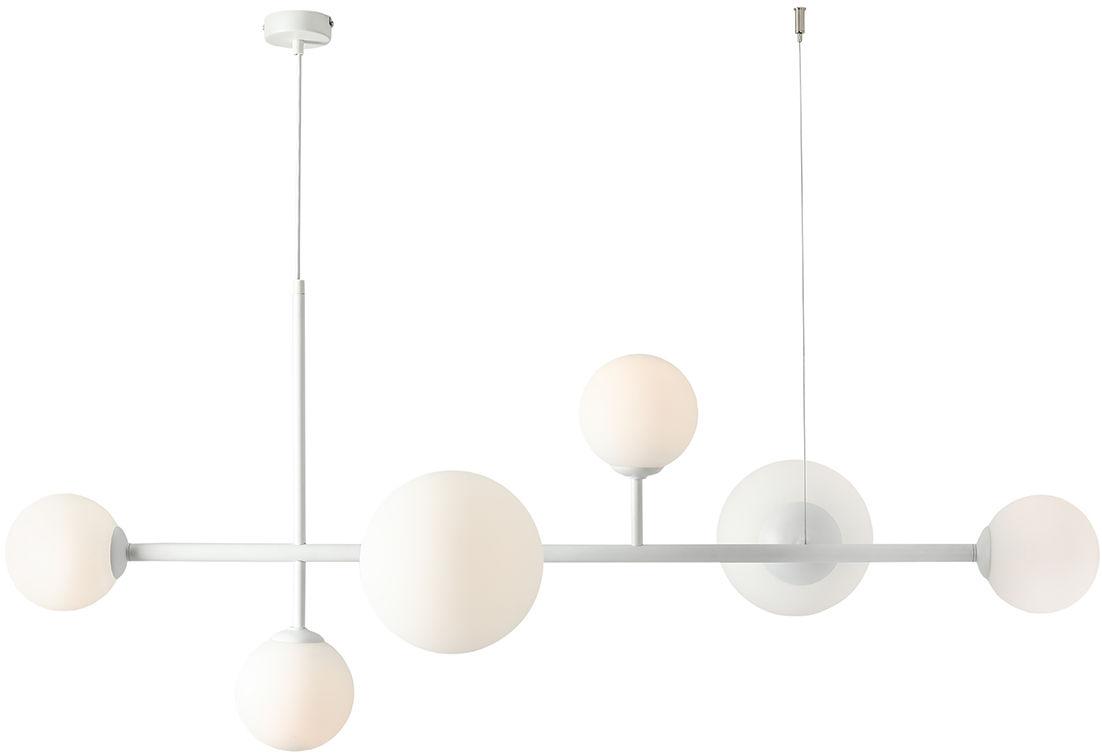 Lampa wisząca biała BALIA 1039K Aldex nowoczesna lampa designerska